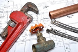 Emergency plumber tools and equipment