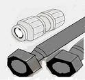 Plumbers flexable fittings