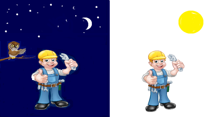 Plumber day or night
