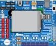 A boiler pc board