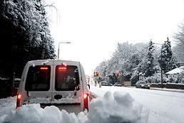 Plumber Birmingham stuck in the snow