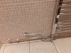 Difficult plumbing repairs.