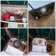 Four steps to a toilet repair