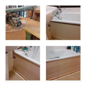 Bath panel made to measure