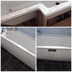 Fit a bath panel